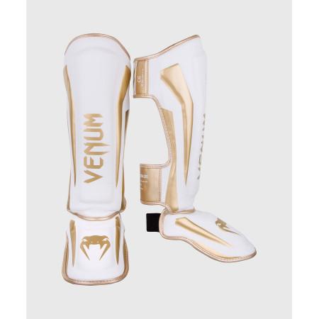 Venum Защита Голени Elite Бело/Золотая