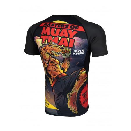 Pit Bull Рашгард Master of Muay Thai Короткий Рукав 2.0 Черный