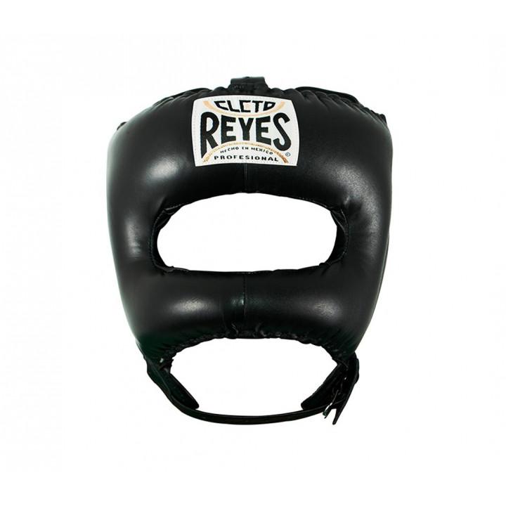 Боксерский шлем с защитой Носа Pointed от Cleto Reyes черный