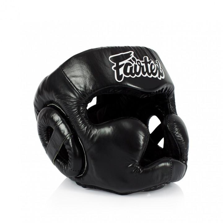 Fairtex Боксерский Шлем HG13 Черный