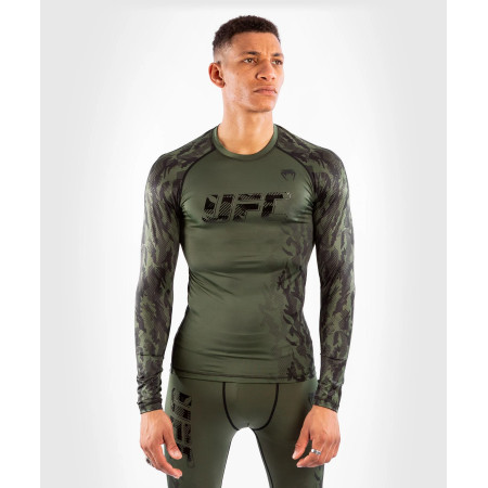 Venum UFC Рашгард Authentic Fight Week Длинный Рукав Хаки