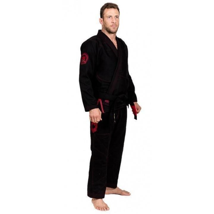 KiNGZ Kimono/Gi BJJ Knight Черное