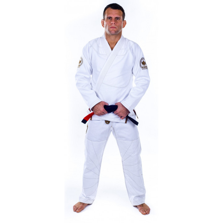 KiNGZ Kimono/Gi BJJ Knight Белое
