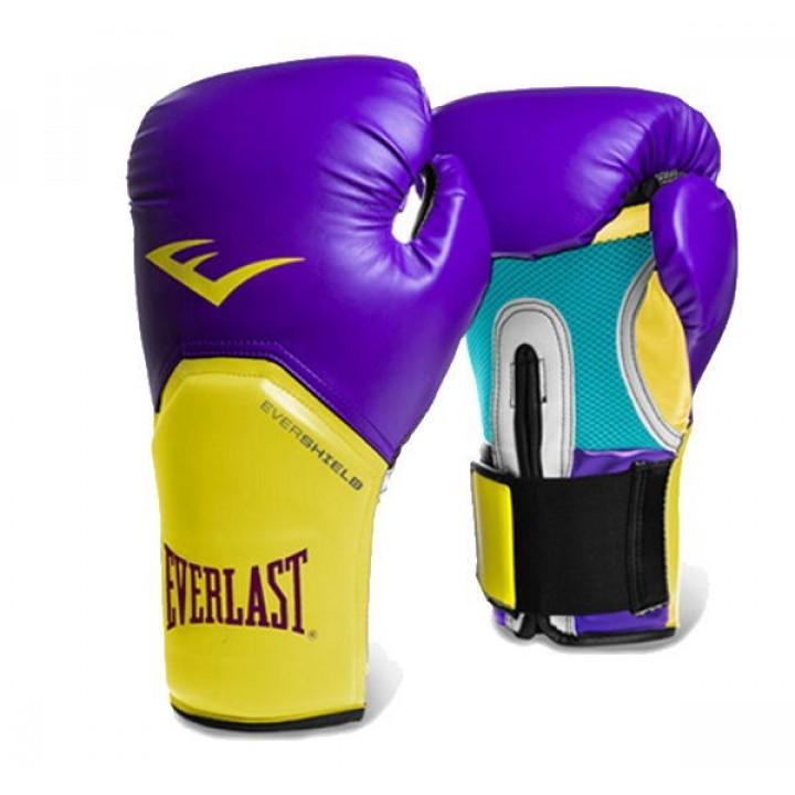 Боксерскиеперчатки Pro Style Elite от Everlast пурпурные
