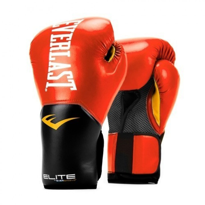 Боксерские перчатки Pro Style Elite 2 от Everlast бордовые