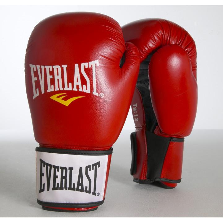 Боксерские перчатки Ergo от Everlast вишневые