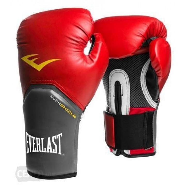 Перчатки боксерскиеPro Style Elit от Everlast бордовые
