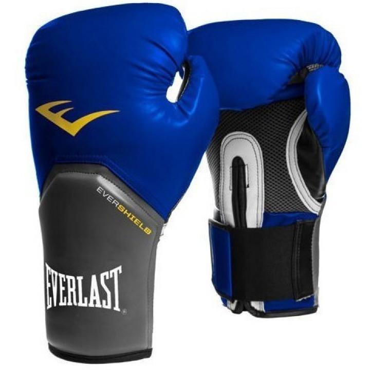 Перчатки боксерскиеPro Style Elit от Everlast синие