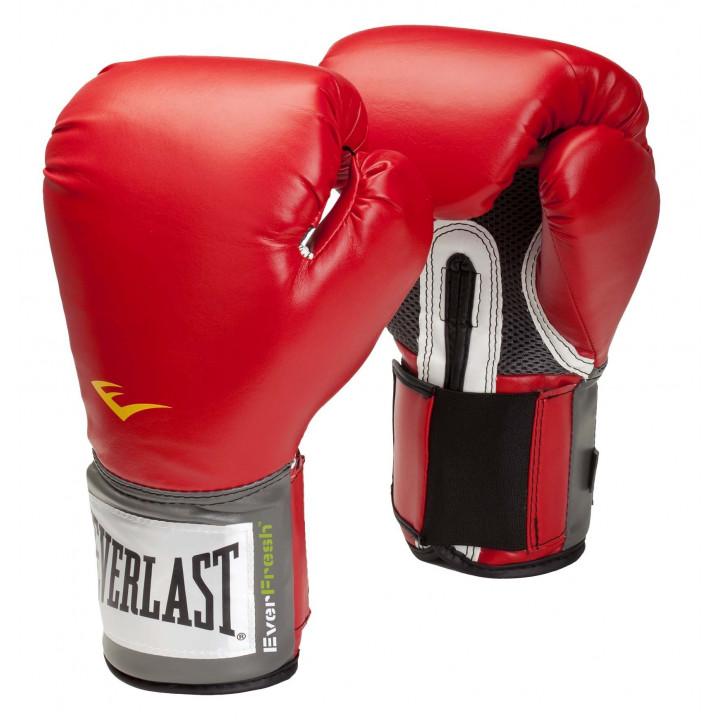 Боксерскиеперчатки Pro Style Elite от Everlast бордовые