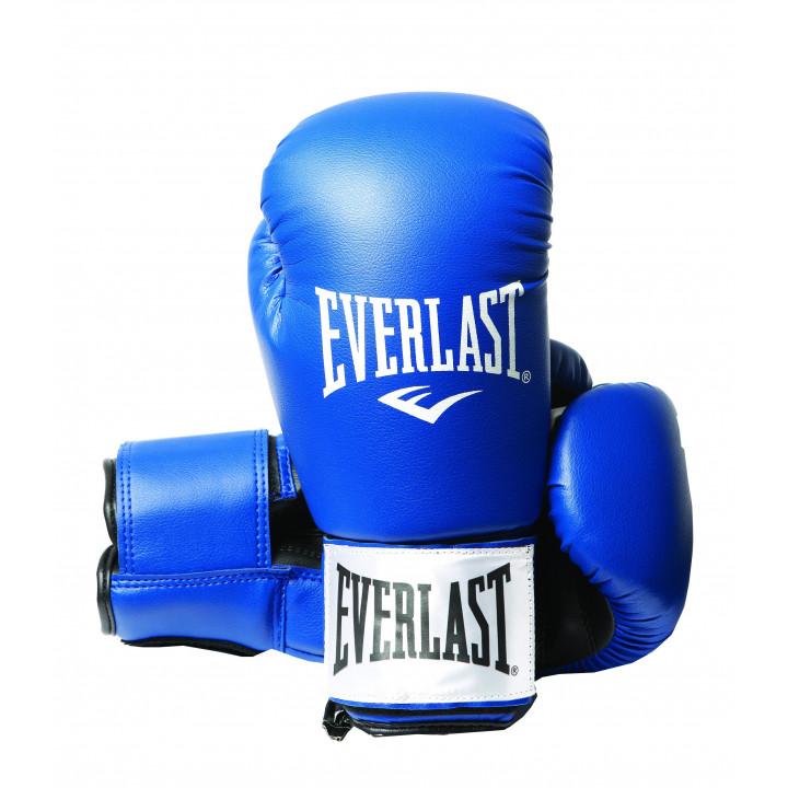 Боксерские Перчатки Everlast Rodney PU Синие