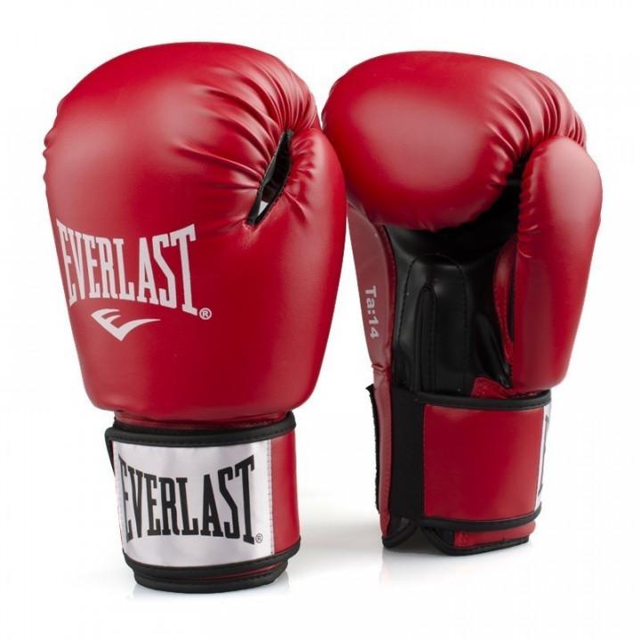 Перчатки Боксерские Ergo PU от Everlast бордовые