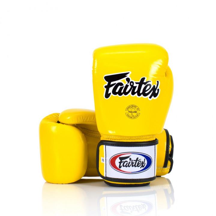 Fairtex Перчатки Боксерские BGV1 Жёлтый