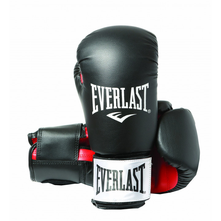 Боксерские перчатки Rodney PU от Everlast черные