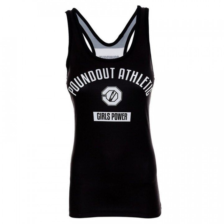 Poundout Tank Топ Женский Athletic