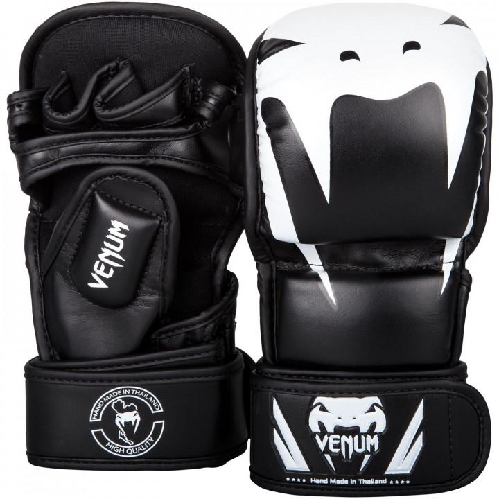 Перчатки спарринговые для MMA Venum Impact чёрные