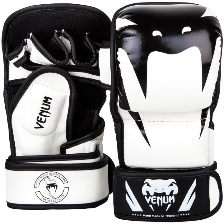 Перчатки спарринговые для MMA Venum Impact белые