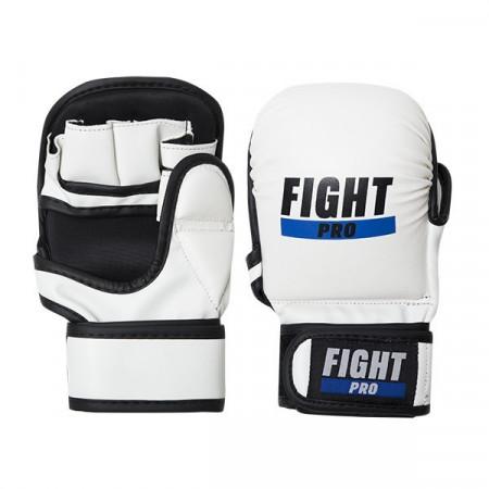 Перчатки для MMA Fight Pro 7oz Basic белые