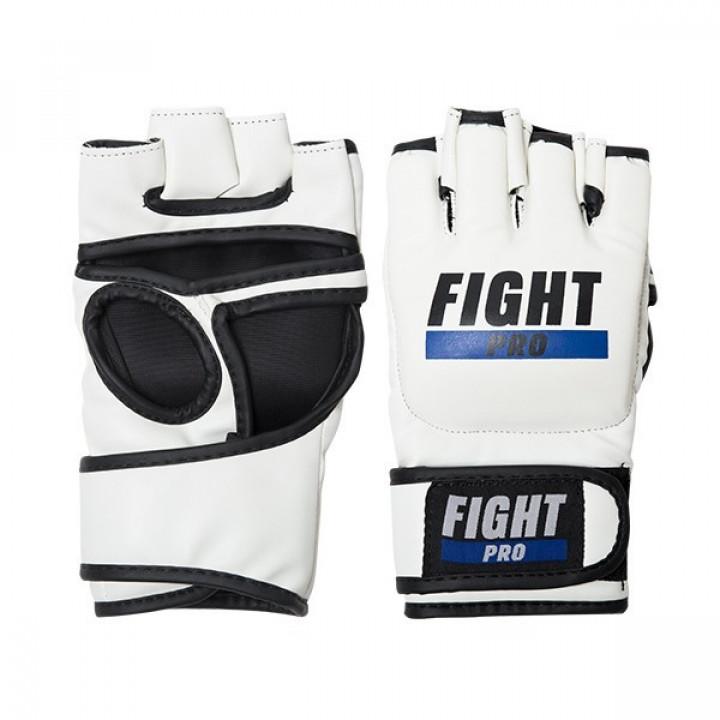Перчатки для MMA Fight Pro 4oz Basic белые