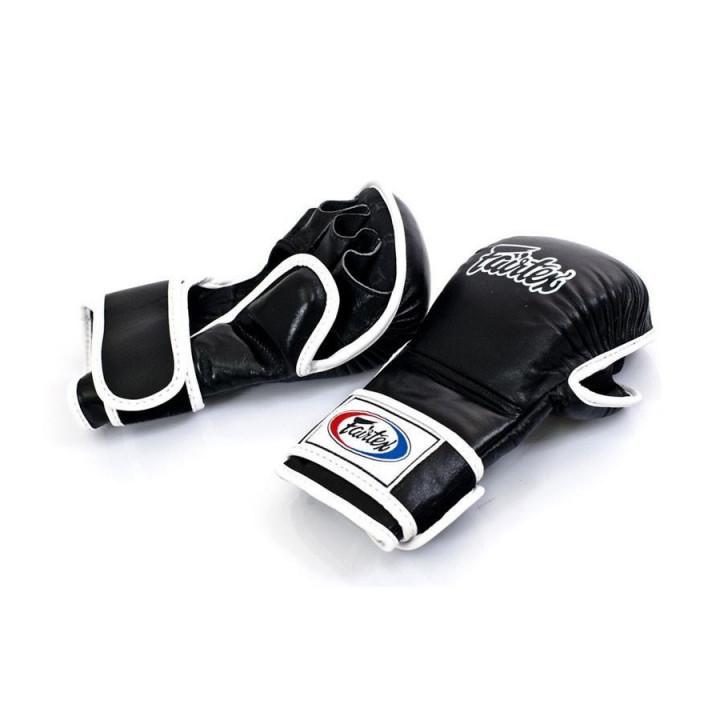 Перчатки для MMA спарринговые Fairtex FGV15 Чёрные