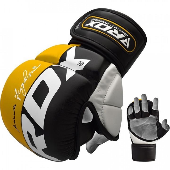 Перчатки для MMA RDX GGL-T6 желтые