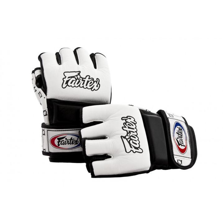 Перчатки для MMA спарринговые Fairtex FGV17 белые