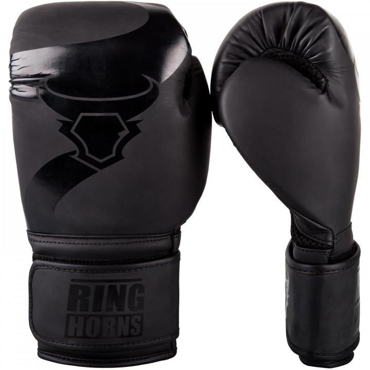 Перчатки боксерские Ringhorns Charger матово-черные