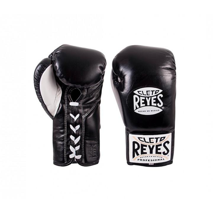 Перчатки Боксерские Cleto Reyes Traditional Contest черные