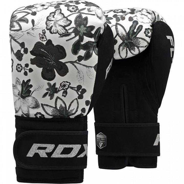 Перчатки боксерские RDX FL4 Floral белый
