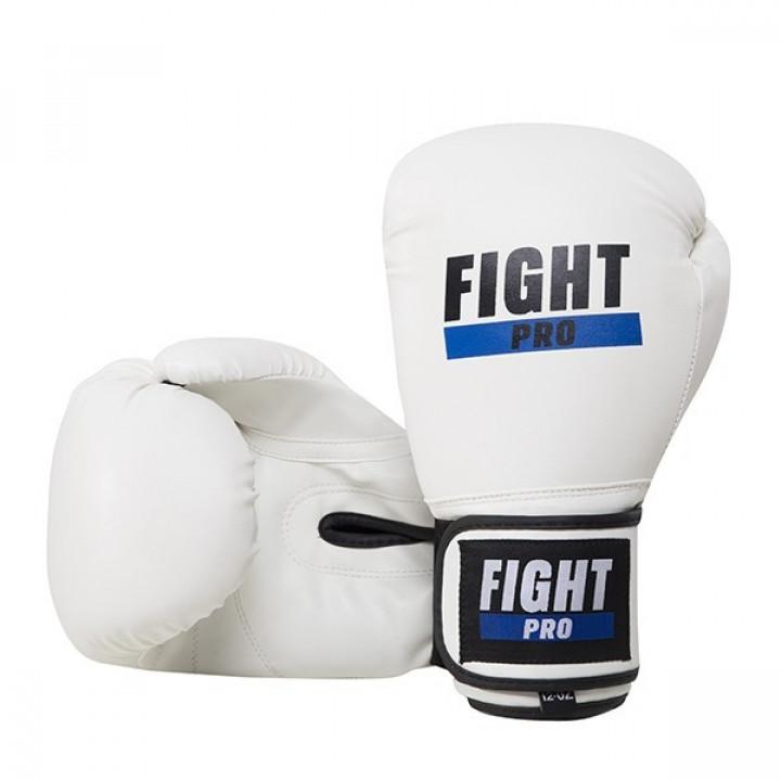 Боксерские перчатки Fight Pro Basic белые