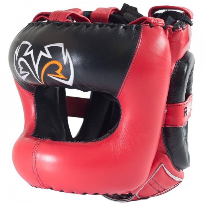 Шлем боксерский Rival RHGFS3 Face-Saver Красный
