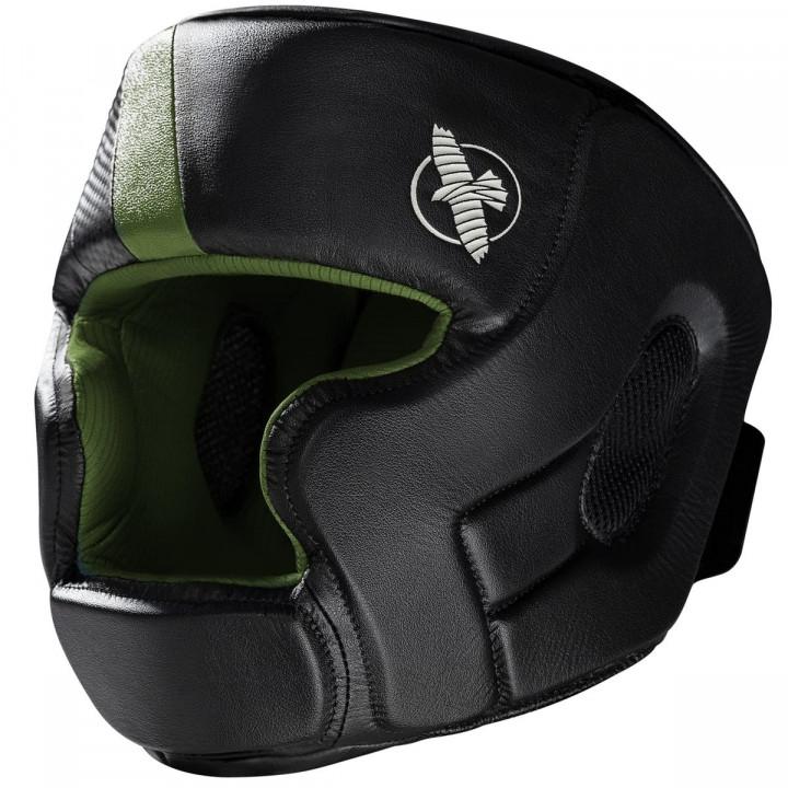 Hayabusa Шлем Боксерский T3 Черно/Зеленый