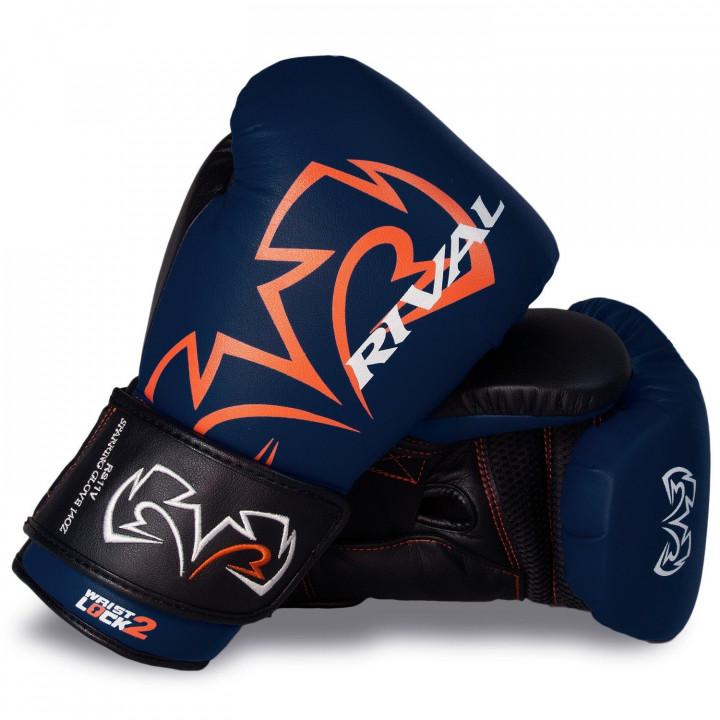 Боксерские перчатки Rival для спаррингов RS11V синие