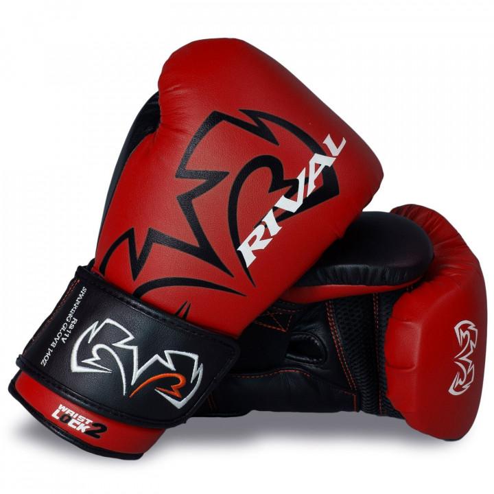 Боксерские перчатки Rival для спаррингов RS11V красные