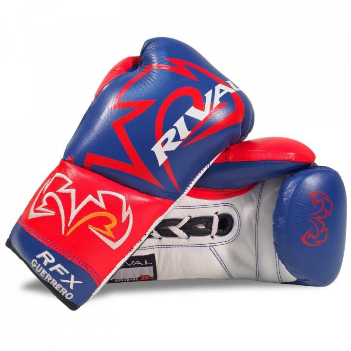 Rival Перчатки боксёрские RFX-Guerrero Pro Fight SF-F Синие