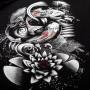 Venum T-shirt Koi 2.0 Черно / Белая