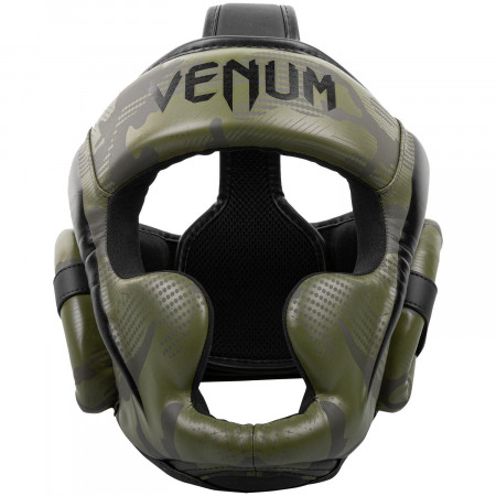 Venum Шлем Боксерский Elite Хаки Camo