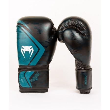 Venum Перчатки боксерские Contender 2.0 Defender Черно/Зеленые