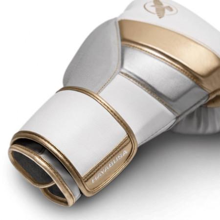 Hayabusa Перчатки Боксерские T3 Бело/Золотые