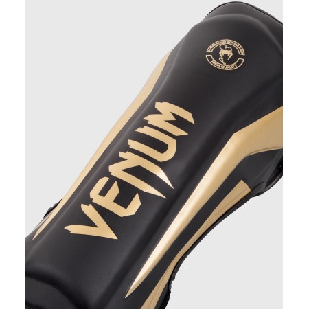 Venum Защита Голени Elite Черно/Золотая
