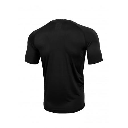 Pitbull Рашгард Performance Pro Plus Small Logo Меланж Черная