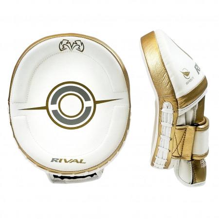 Rival Лапы Боксерские RPM100 Professional Белые