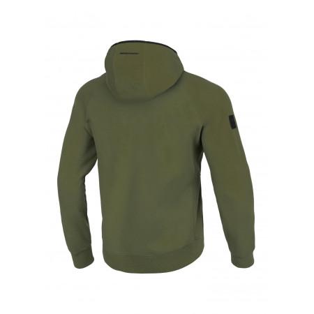 PitBull Кофта с капюшоном Harris Темно зеленая