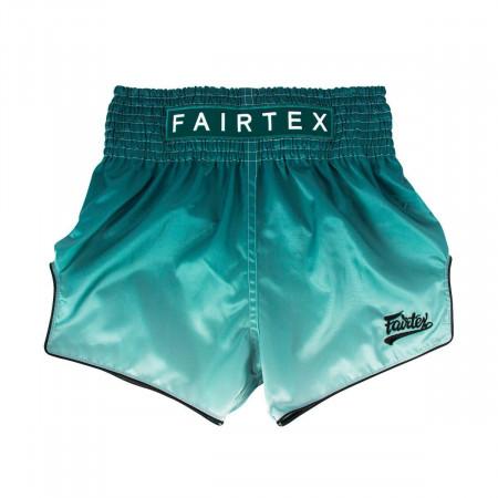 Шорты для Муай Тай Fairtex BS1906 Fade зеленые