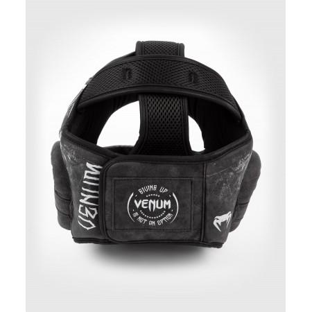 Venum Шлем Боксерский Gladiator 4.0 Черно/Белый