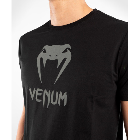 Venum Classic T-shirt Черно/Серая