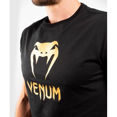 Venum Classic T-shirt Черно/Золотая
