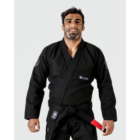 KiNGZ Kimono/Gi BJJ Balistico 3.0 Черное