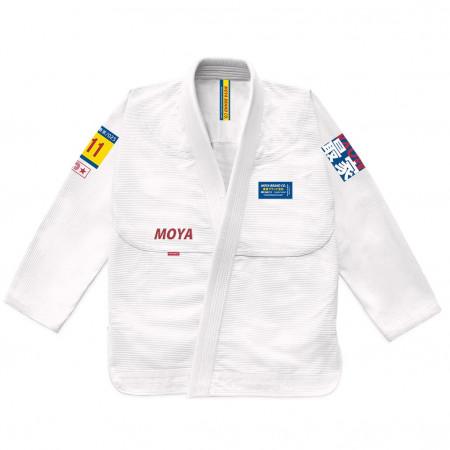 Кимоно для джиу-джитсу Moya Brand Mat Devil Белое