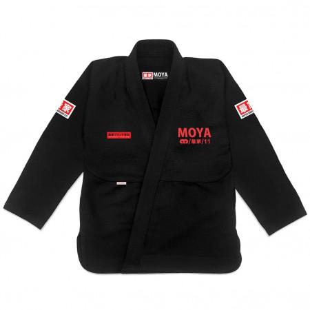 Кимоно для джиу-джитсу  Moya Brand Reventor Черное