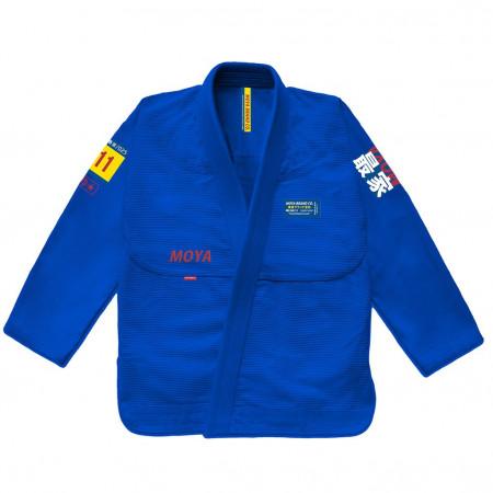 Кимоно для джиу-джитсу  Moya Brand Mat Devil Синие